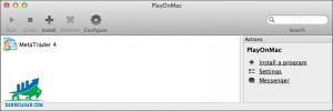 Click vào MetaTrader4 là xong