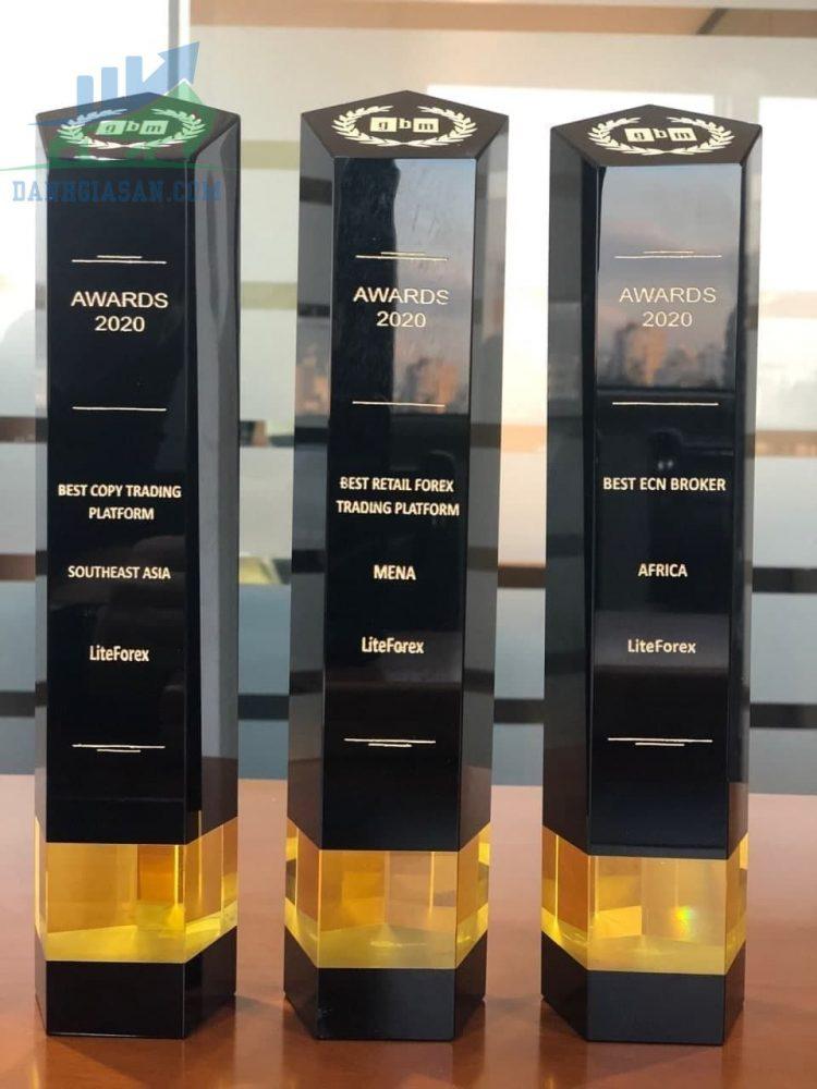 Một số giải thưởng của Lite Forex năm 2020