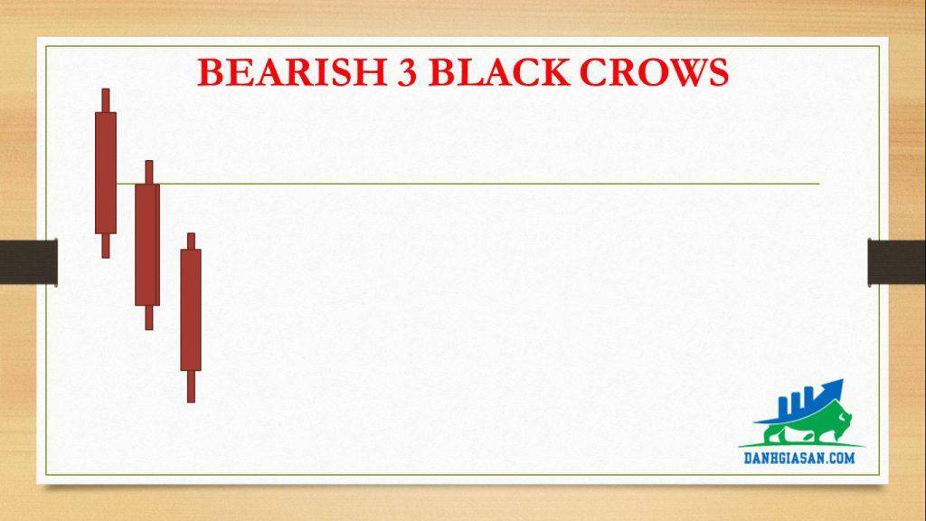 BEARISH 3 BLACK CROWS