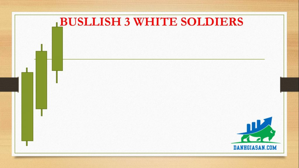 BUSLLISH 3 WHITE SOLDIERS