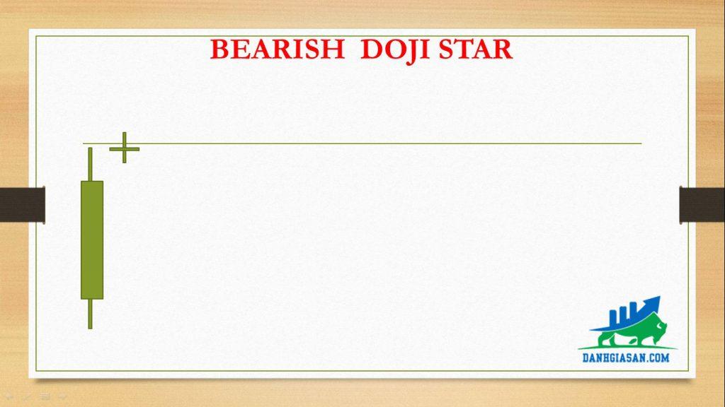 BEARISH DOJI STAR