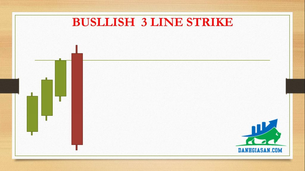 BUSLLISH 3 LINE STRIKE