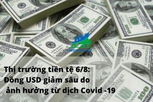 Thị trường tiền tệ 6_8_ Đồng USD lao dốc