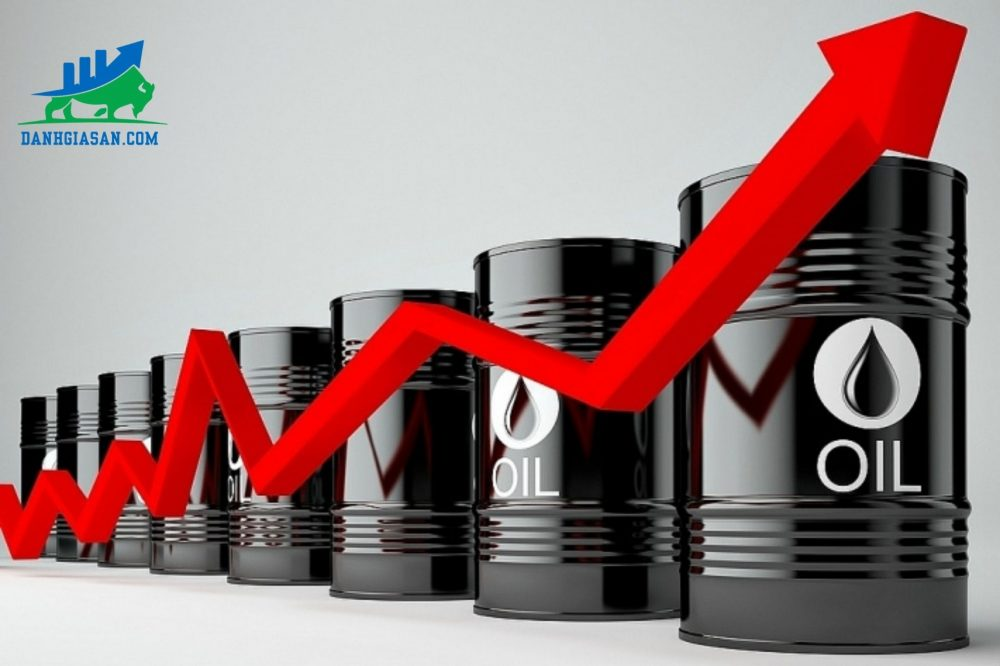 dầu thô thế giới tăng giá