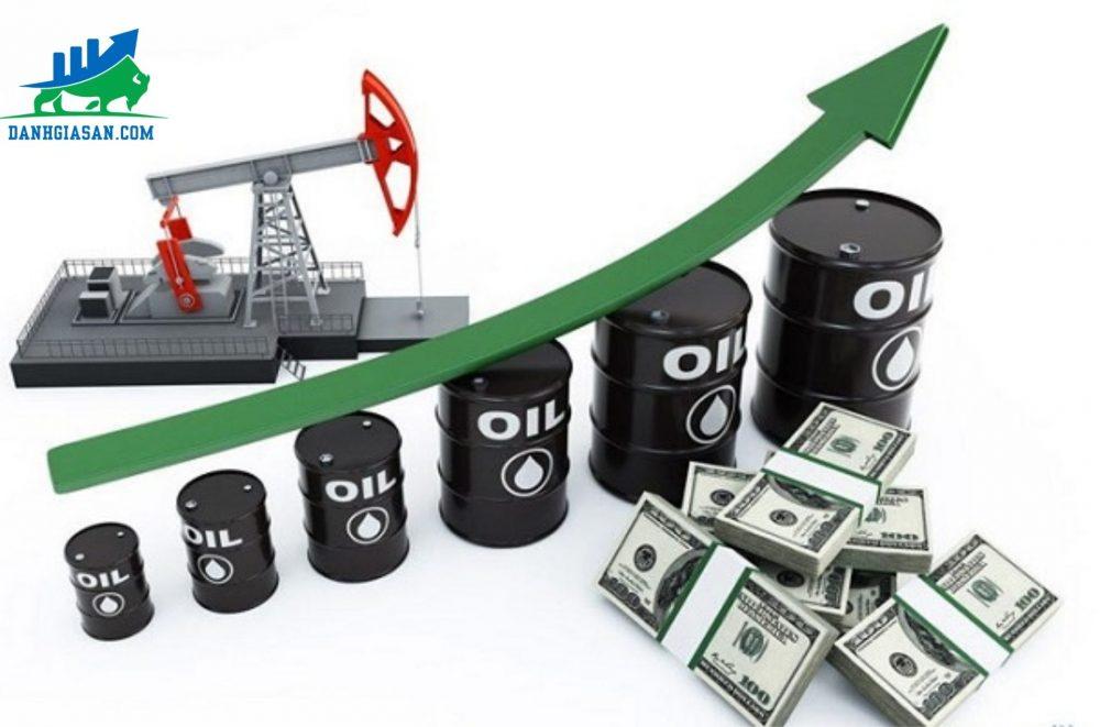 giá xăng dầu tăng