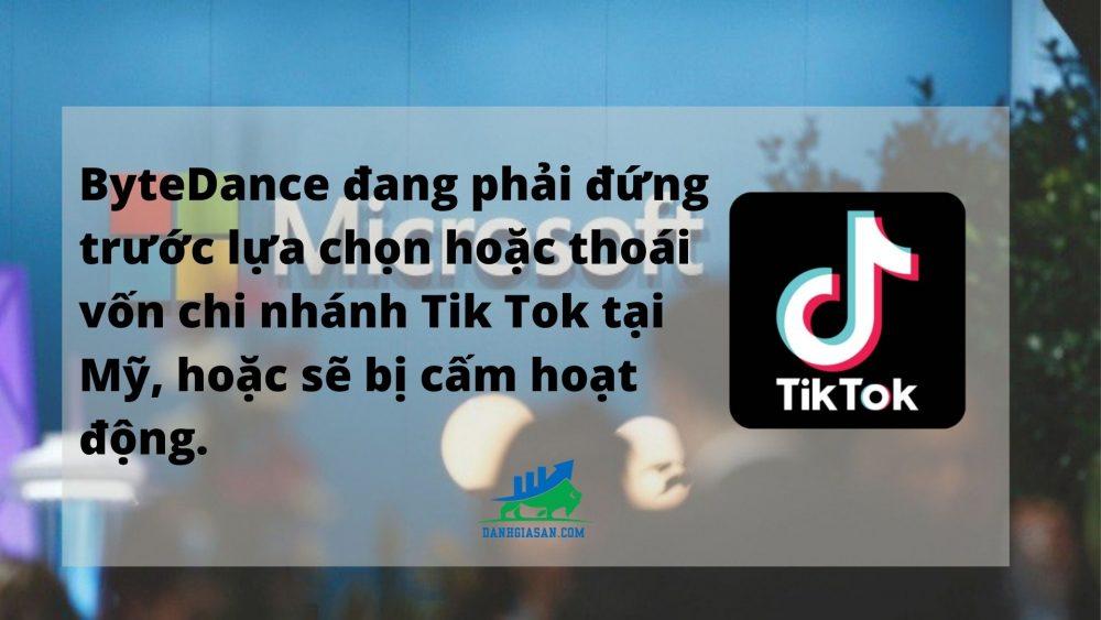 ung dung Tik Tok buoc phai thoai von chi nhanh o My