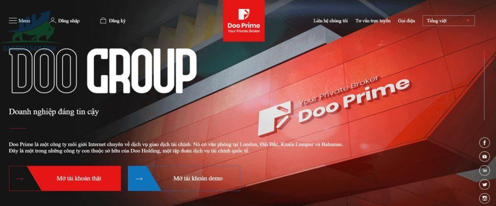 Tổng quan về sàn giao dịch Forex Doo Prime