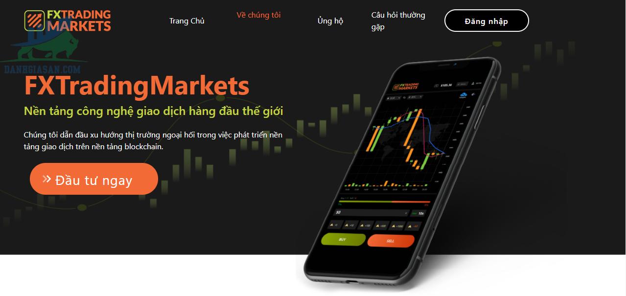 Sàn giao dịch Fx Trading Markets là gì?