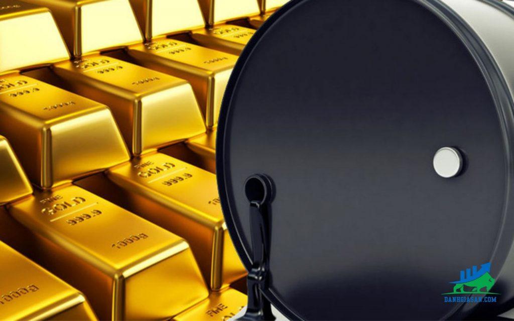 bản tin tài chính vàng tăng dầu giảm