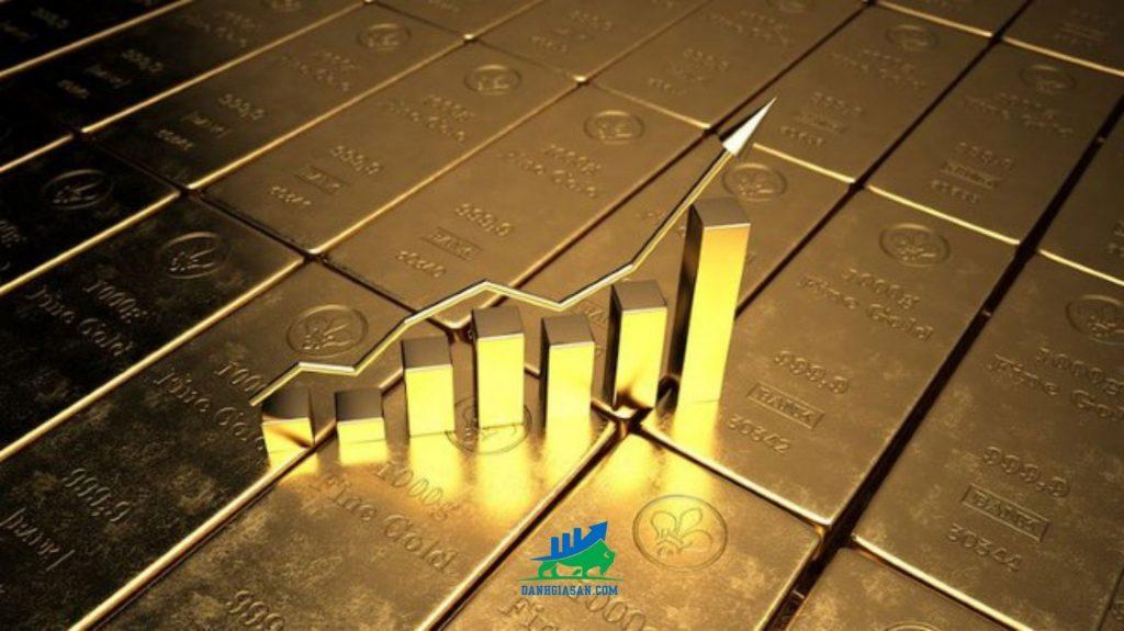 Giá vàng thế giới biến động mạnh theo hình chữ V