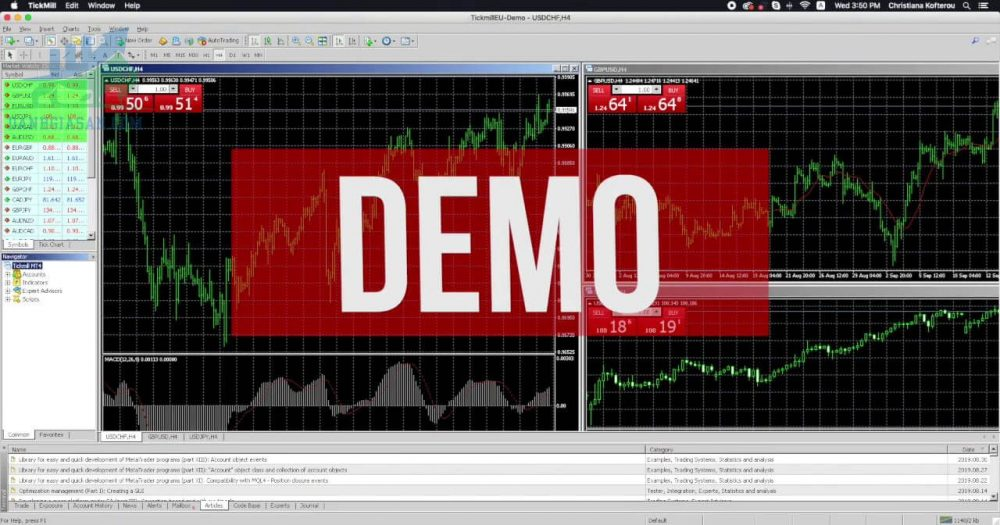 Giao dịch trên tài khoản Demo để hiểu được thị trường