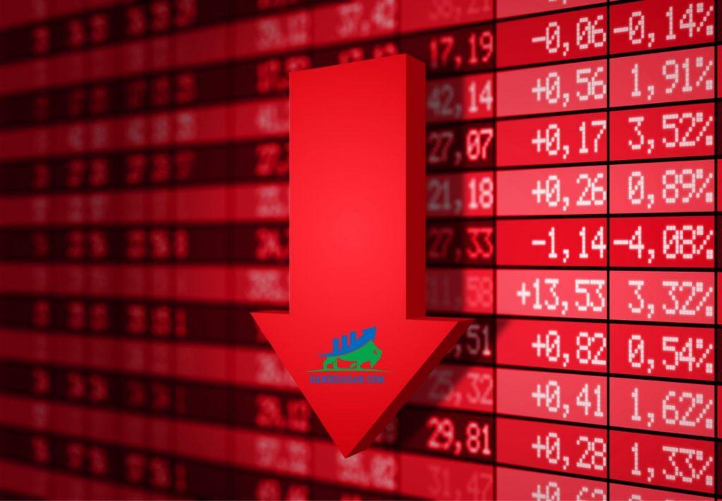 thị trường chứng khoán bị giảm giá mạnh