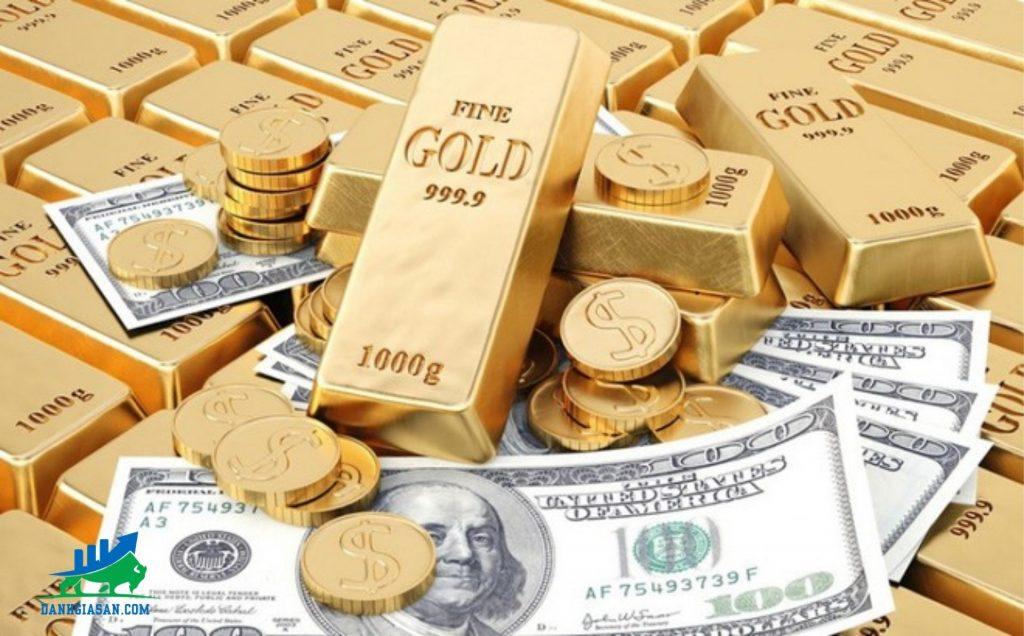 vàng giảm giá mạnh-đồng đô la tăng giá