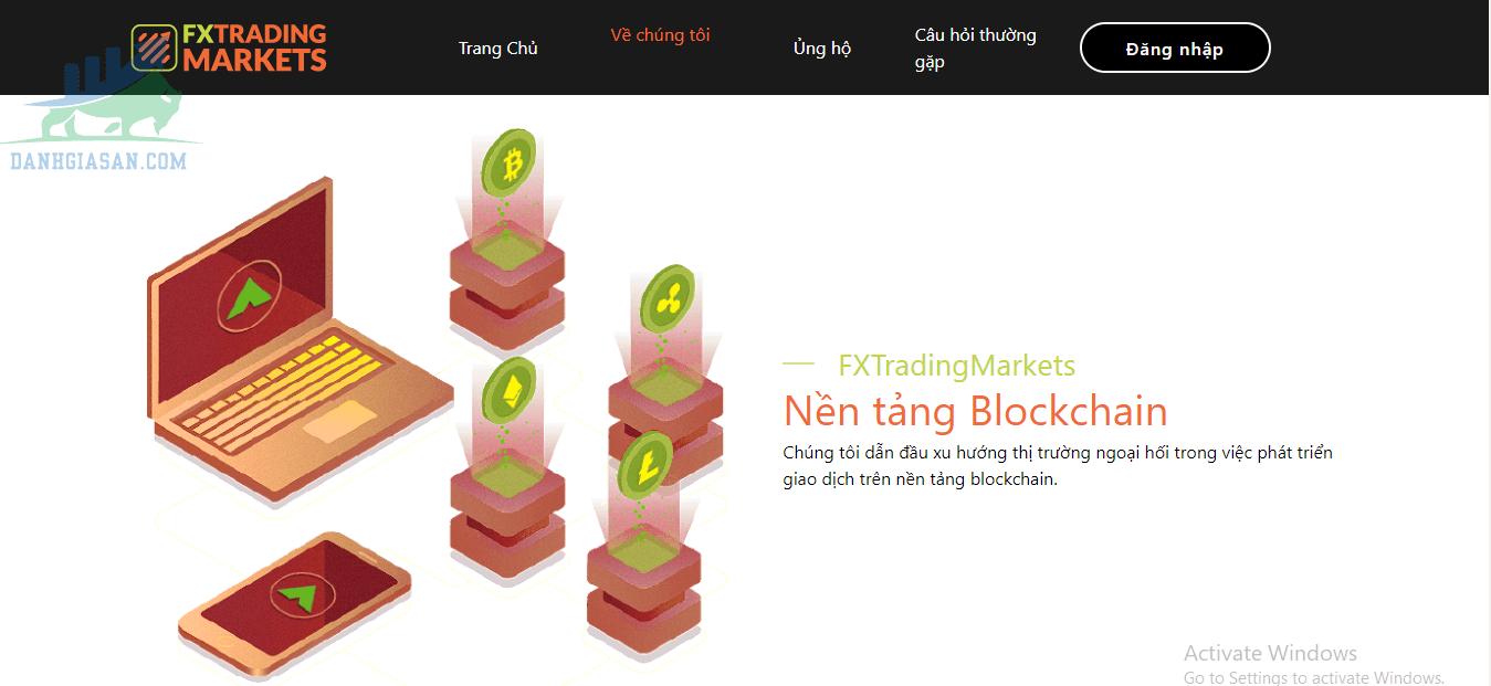 Nền tảng của sàn giao dịch Fx Trading Market