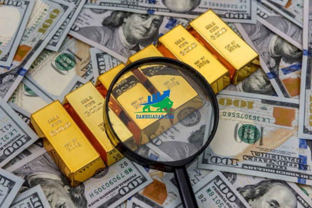 giá vàng hôm nay tăng rồi lại giảm