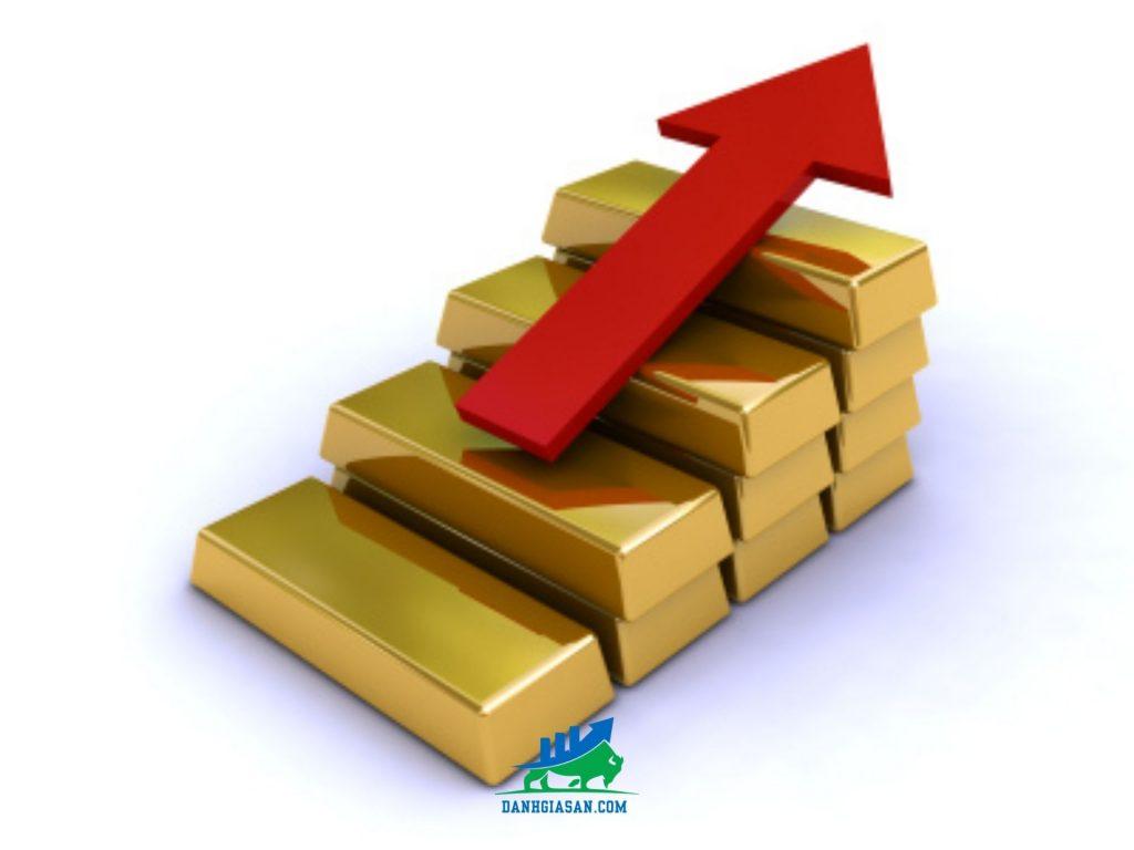 giá vàng thôm nay nhích qua ngưỡng 1.900