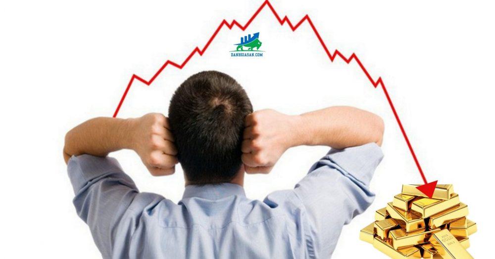giá vàng thế giảm 3 tuần liên tiếp
