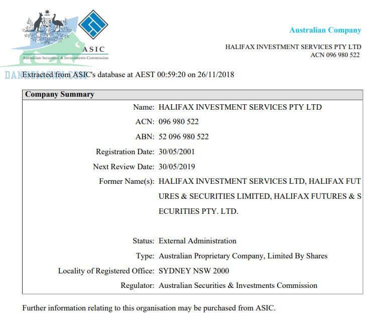 Tìm hiểu giấy phép ASIC