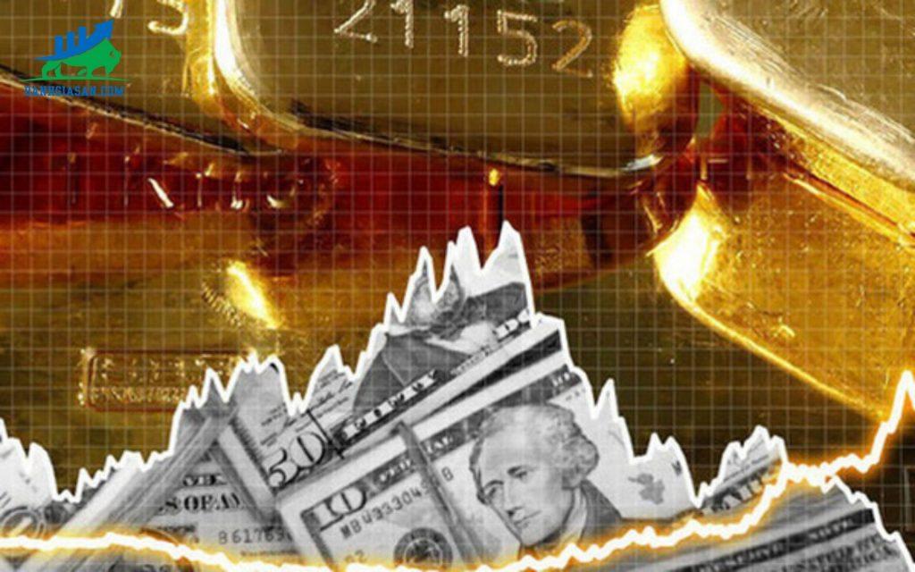 vàng tăng mạnh đồng đô la giảm