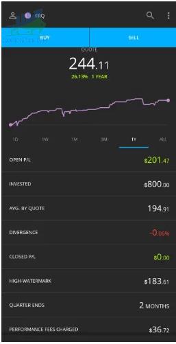 Darwinex cung cấp ứng dụng di động