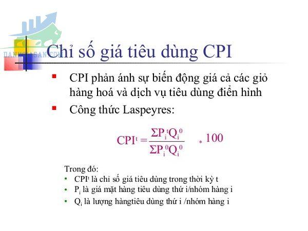 Cách tính chỉ số CPI