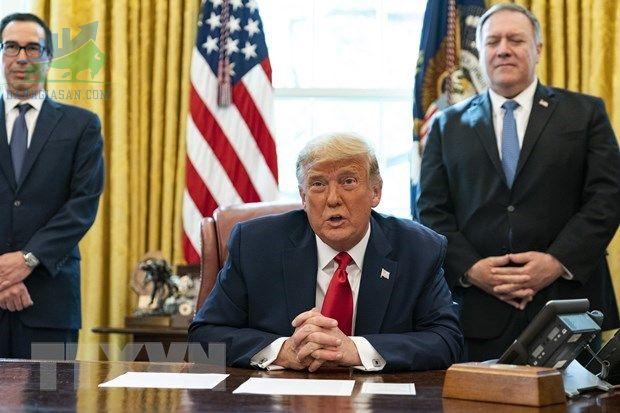 Tổng thống Hoa Kỳ Donald Trump đã ký thành luật gói viện trợ đại dịch