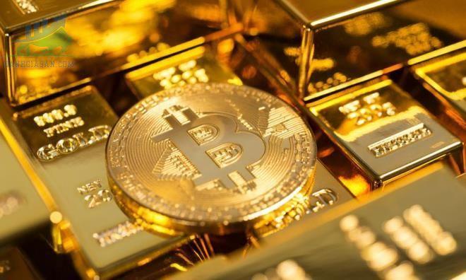 Sự cạnh tranh Bitcoin và vàng