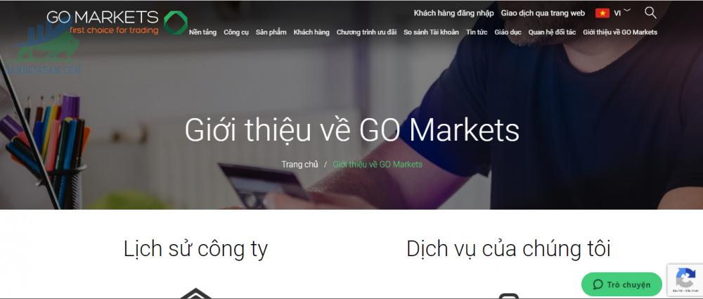 Tổng quan về nhà môi giới GO Markets