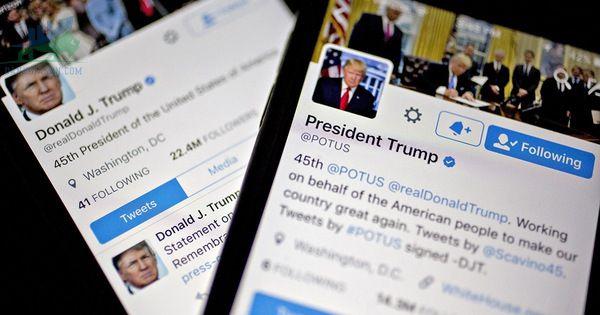 Twitter đóng băng tài khoản Trump khi các gã khổng lồ công nghệ phản ứng với cơn bão thủ đô Hoa Kỳ ngày 07/01/2021