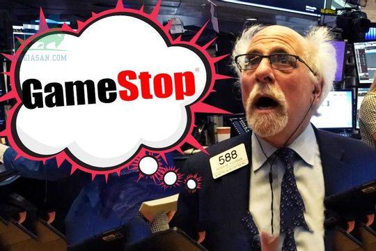 cổ phiếu GameStop giao dịch thấp hơn 42%