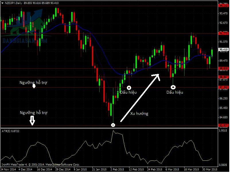 Cách xác định điểm vào lệnh Forex: Thời điểm cả 3 yếu tố Trend, Level, Signal cùng xuất hiện