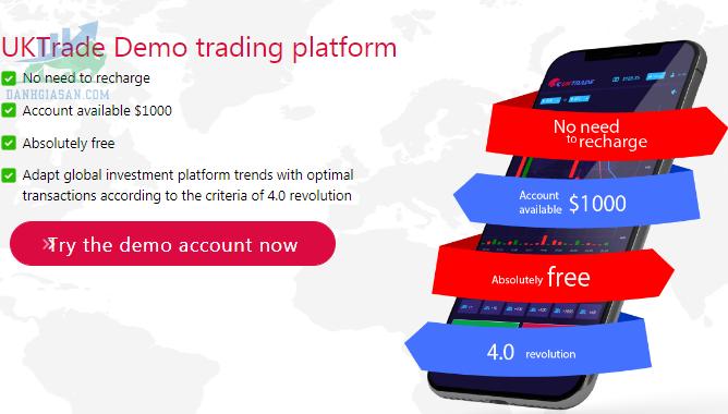 Nền tảng giao dịch sàn UK Trade