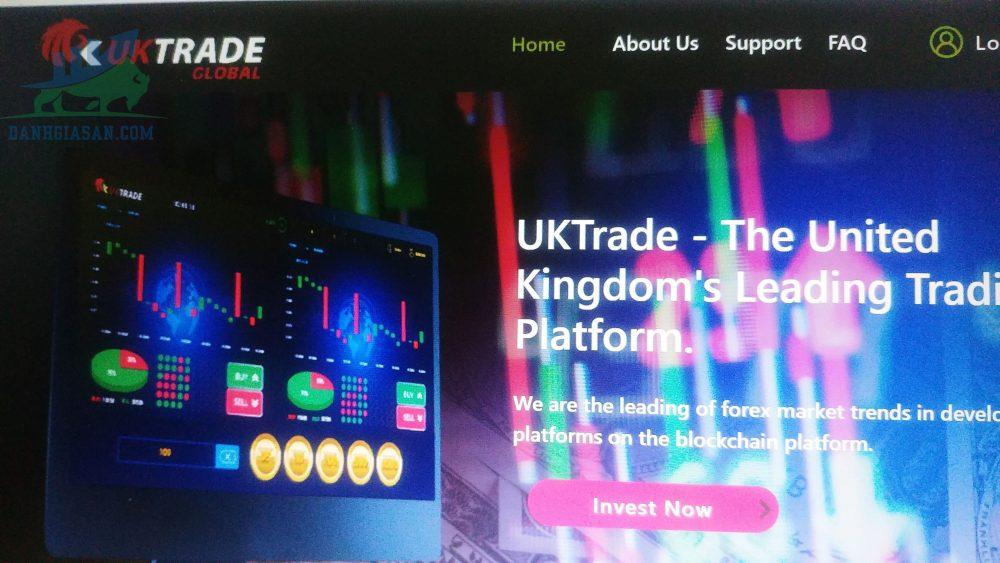 Nhà môi giới UK Trade lừa đảo khách hàng hay uy tín