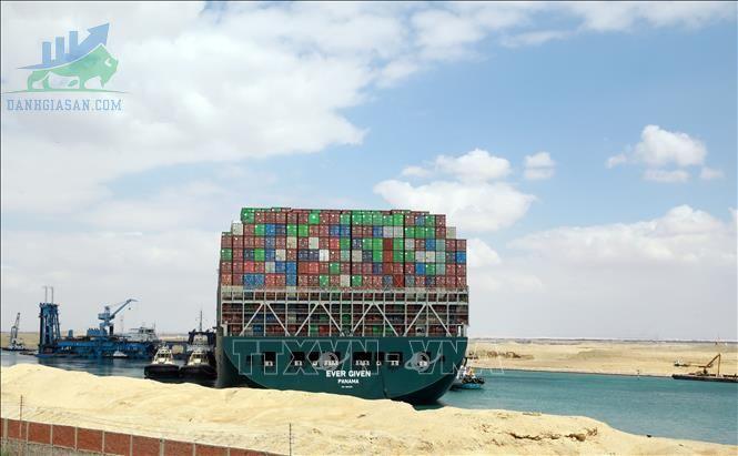 Giao thông trong kênh đào Suez trở lại sau khi tàu mắc cạn được cập nhật lại ngày 30/03/2021