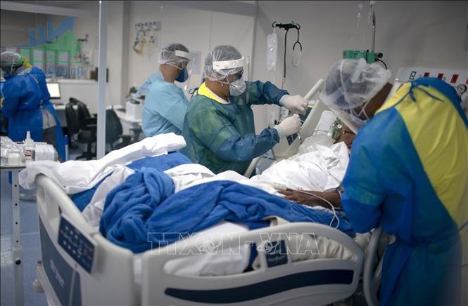 Brazil lập kỷ lục số người chết hàng ngày do COVID-19 với 4.249 ca – ngày 09/04/2021
