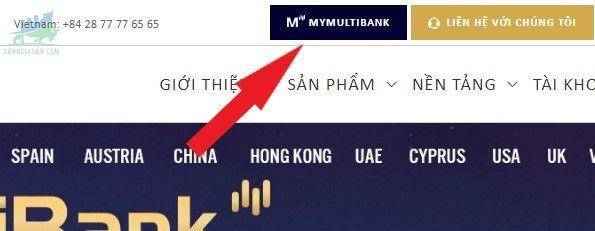 Các hình thức nạp và rút tiền sàn MultiBank FX
