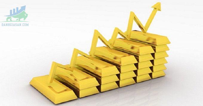 Thị trường vàng dao động gần mức cao nhất trong tám tuần khi đồng đô la Mỹ nới lỏng lợi suất ngày 22/04/2021