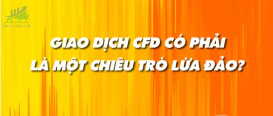 Lừa đảo giao dịch CFD