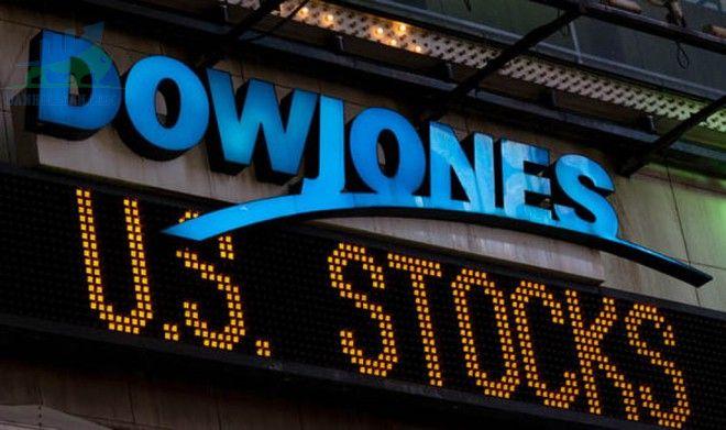 Dow Jones giảm bớt thua lỗ