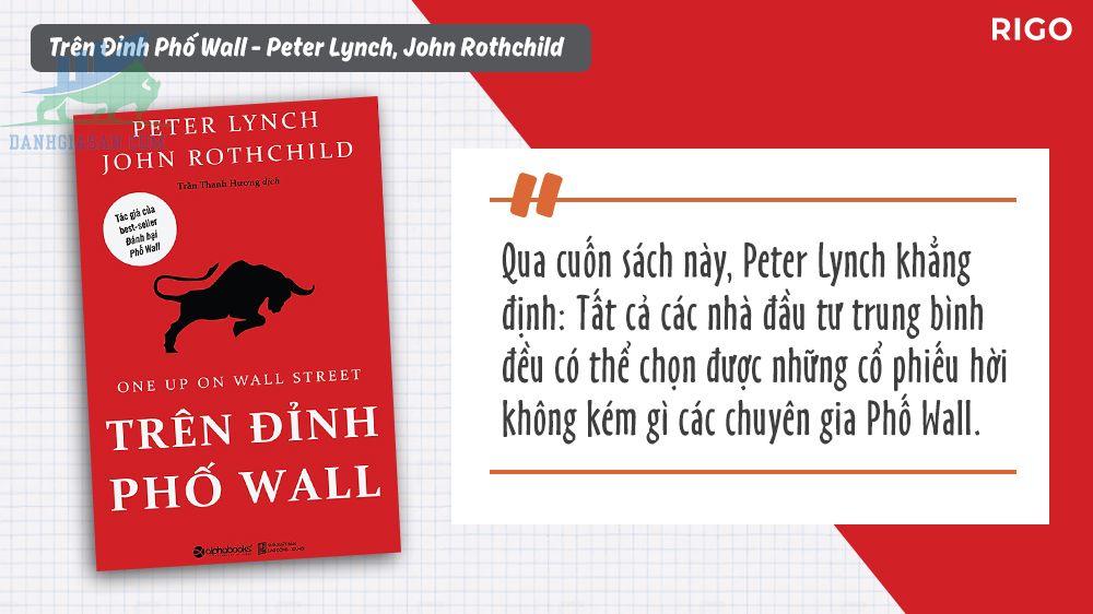Trên đỉnh phố Wall và những nguyên tắc đầu tư của Peter Lynch