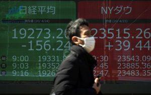 Chứng khoán châu Á sụt giảm