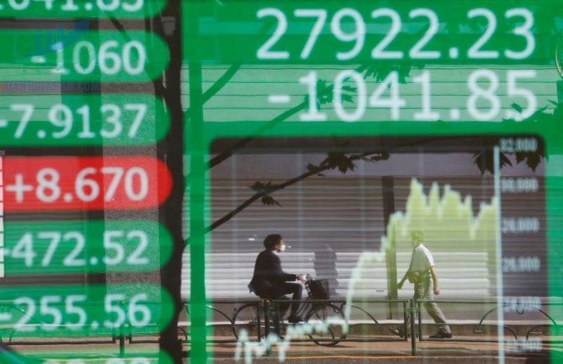 Chứng khoán châu Á lo lắng về nhu cầu tăng trưởng
